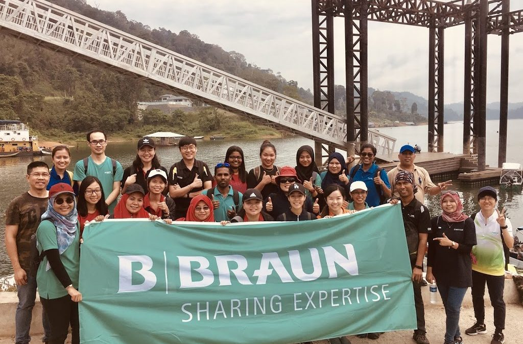 B Braun Reaching Out to Orang Asli Community in Kampung Desa Ria