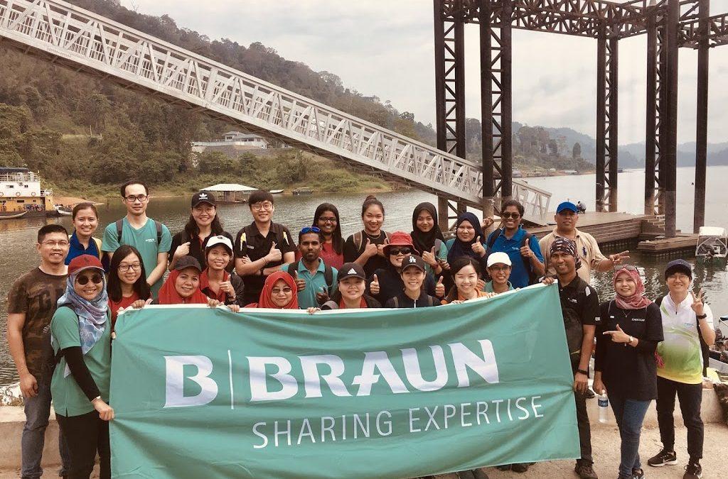 B Braun Reaching Out to Orang Asli Community in Kampung Desa Ria