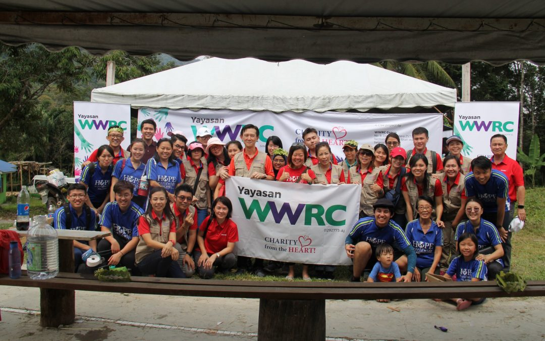 Yayasan WWRC bridges love to Orang Asli Community in Kg. Jerum Lesung
