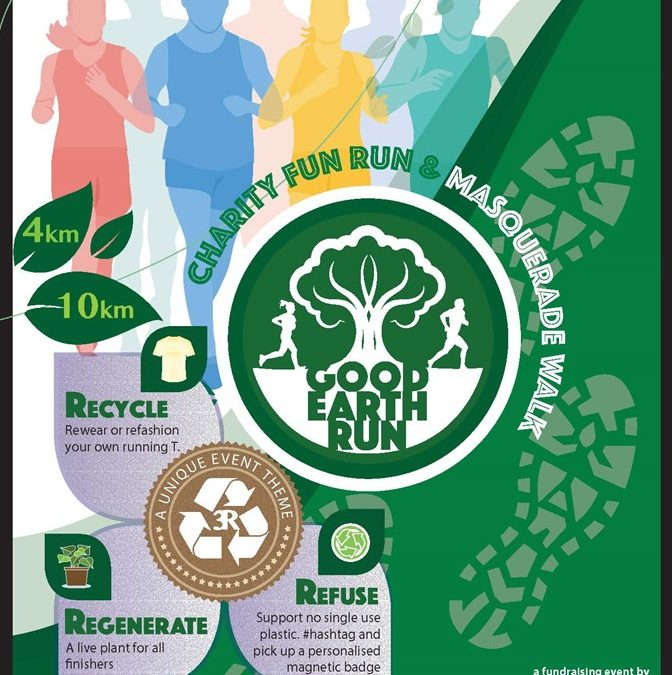 Good Earth Run 2019 with 3-Rs for sustainable living environment for our nation