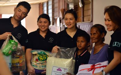 Luxasia Staff reached out to Orang Asli Community in Kg. Belihoi