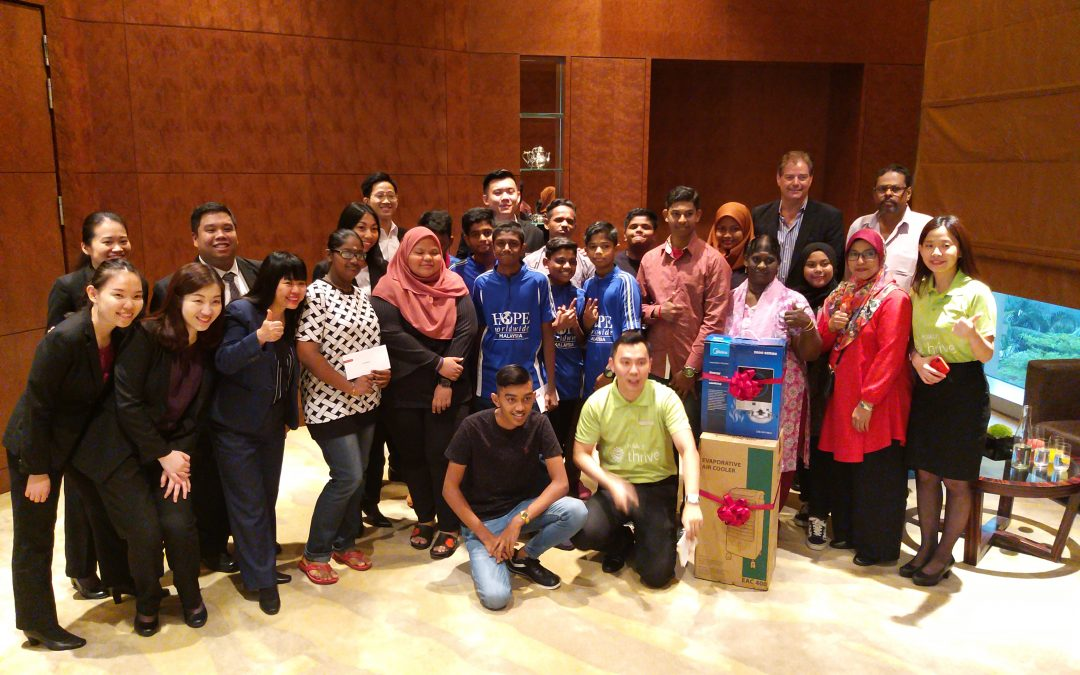 Conquest in Khan Academy with Grand Hyatt Kuala Lumpur
