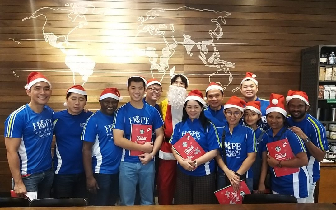 Starbucks x HOPE worldwide Malaysia Nationwide Caroling Tour 2019