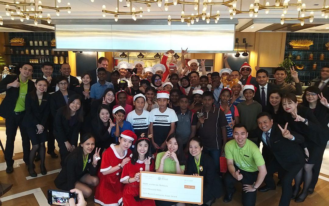 Hyatt Thrive Christmas Celebration by Grand Hyatt Kuala Lumpur