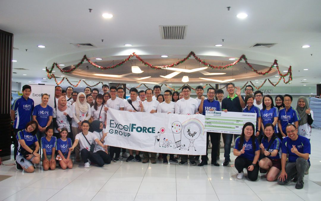 Excel Force MSC Berhad helps 100 children go back to school