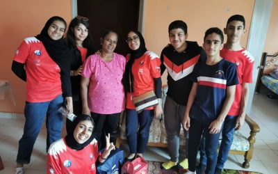 Bahrain APG School Students Home Visit to Sentul Community