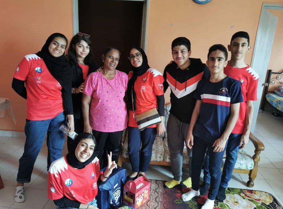Bahrain APG School Students Home Visit to Sentul Community