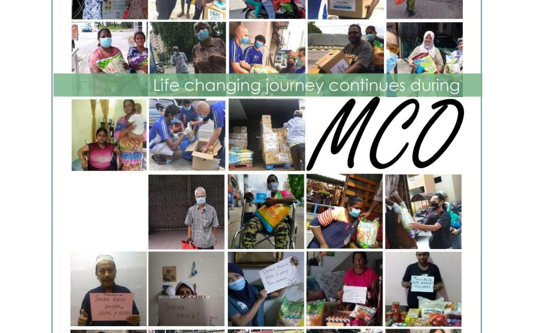 HOPE worldwide Malaysia MCO & CMCO Food Aid Reaches 1479 families nationwide
