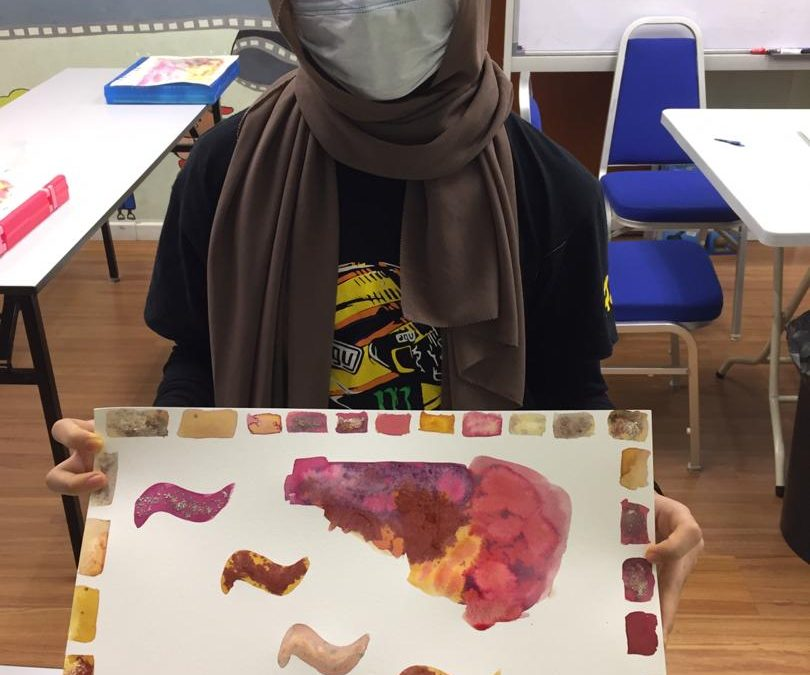 Sun Life Malaysia Therapeutic Art Education Program 2020